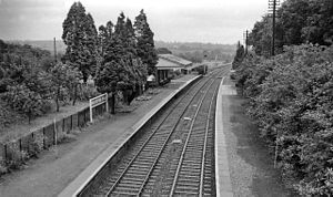 Bransford - The old Great Western Railway station