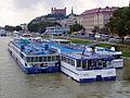 Bratislava, River cruise ships 01.jpg
