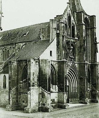 Église Notre-Dame de l'Assomption, Rouffach - Image: Braun église de Rouffach