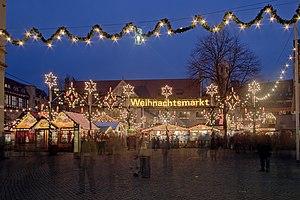 Deutsch: Braunschweiger Weihnachtsmarkt