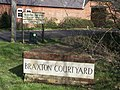 Braxton Courtyard Marker - geograph.org.uk - 356734.jpg