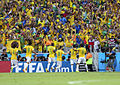 Brazil and Colombia match at the FIFA World Cup 2014-07-04 (1).jpg