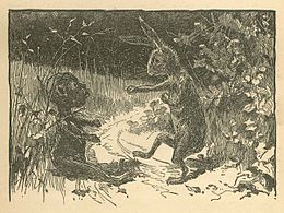 Brer Rabbit and the tar baby, 1881.jpg