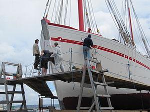 Brest2012 La Fée de l'Aulne en peinture (2).JPG