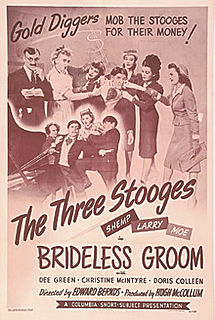 <i>Brideless Groom</i> 1947 film by Edward Bernds