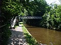 Bridge carrying Offa's Dyke Path over the Llangollen Canal - geograph.org.uk - 914273.jpg