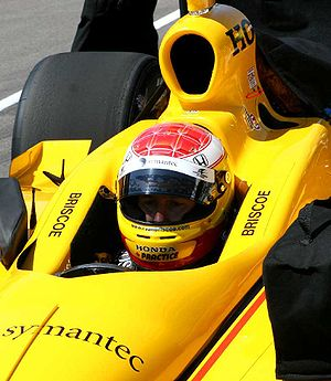 Ryan Briscoe - Ryan Briscoe waits for a qualification attempt at Indy in 2007