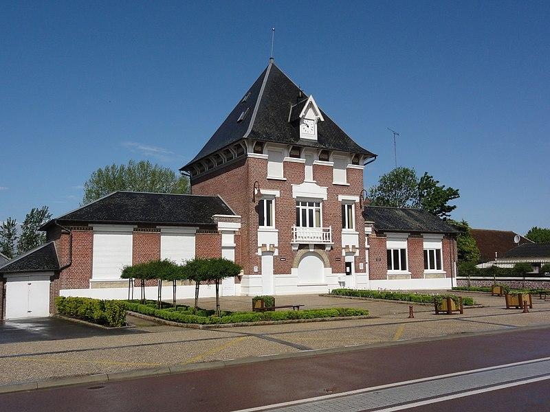 Brissay-Choigny (Aisne) mairie