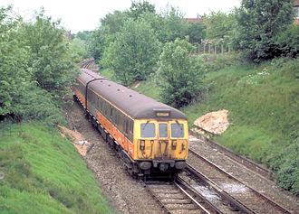 Bury Line - Image: British Rail Class 504