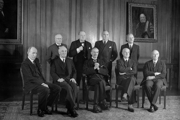 British-war-cabinet-1939-40-churchill-chamberlain