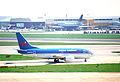 British Midland Airways Boeing 737-59D; G-BVKA@LHR;13.04.1996 (5217485266).jpg