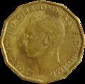 British threepence 1942 obverse.png