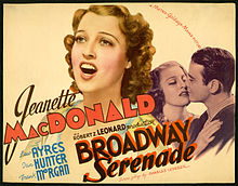 Image result for Broadway Serenade 1939