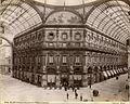 Brogi, Giacomo (1822-1881) - n. 4608 - Milano - Ottagono della Galleria Vittorio Emanuele ca. 1880.jpg