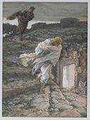 Brooklyn Museum - Saint Peter and Saint John Run to the Sepulchre (Saint Pierre et Saint Jean courent au sépulcre) - James Tissot.jpg