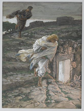 Disciple whom Jesus loved - Image: Brooklyn Museum Saint Peter and Saint John Run to the Sepulchre (Saint Pierre et Saint Jean courent au sépulcre) James Tissot
