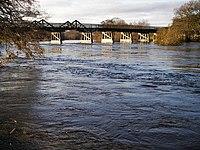 Broomhill Bridge over River Spey - geograph.org.uk - 308922.jpg
