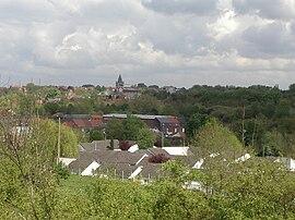 Eine allgemeine Ansicht von Bruay-La-Buissière