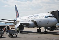 OO-SSQ - A319 - Brussels Airlines