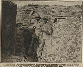 Bryan Mahon - Bryan Mahon at Salonica 1916