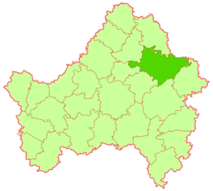 Bryansky District - Image: Bryansky raion Bryansk obl