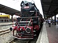 Bucuresti, Romania, Gara de Nord, Expozitie de locomotive si vagoane de colectie (iunie 2014)(2);B-II-m-B-18803.JPG