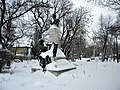 Bucuresti, Romania. PARCUL GRADINA ICOANEI (B-II-a-B-18301). Statuia lui G.C.Cantacuzino.jpg