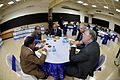 Buffet Lunch - Strategic Transformations - Museums in 21st Century - International Conference and Seminar - Science City - Kolkata 2014-02-13 2627.JPG