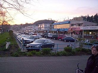 White Rock, British Columbia - Marine Drive, White Rock