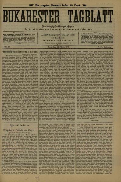 File:Bukarester Tagblatt 1901-03-14, nr. 057.pdf