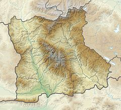 Bulgaria Blagoevgrad Province relief location map.jpg