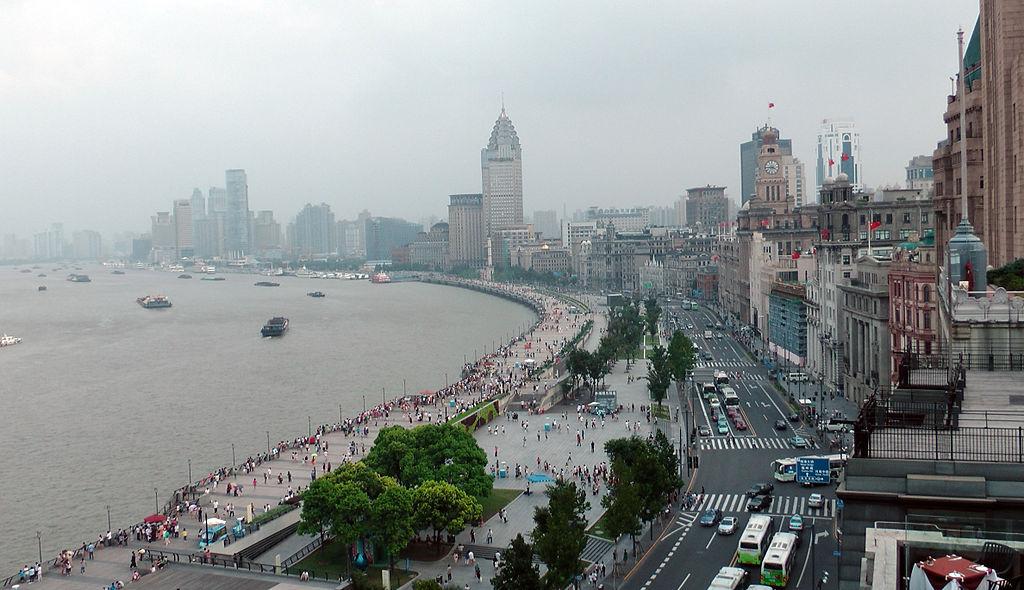 Bund à Shanghaï