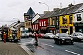 Bundoran - Firemen clearing oil spill on N15 ( Main St ) - geograph.org.uk - 1351956.jpg