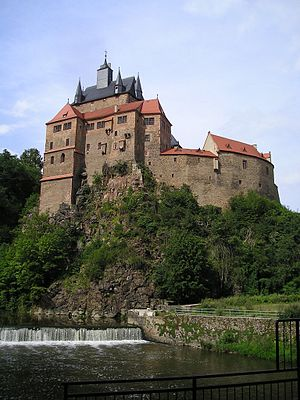 State Palaces, Castles and Gardens of Saxony - Kriebstein Castle, one of the castles managed by the State Palaces, Castles and Gardens of Saxony