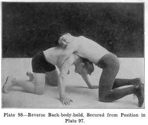 Catch wrestling - Image: Burns 03 05 70 sprawl