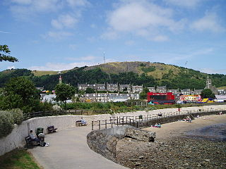 Burntisland town in Fife, Scotland