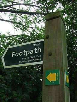 Bury to Clare walk - geograph.org.uk - 925820