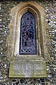 Bush End, Essex, England ~ St John Evangelist exterior ~ chancel east window 01.jpg