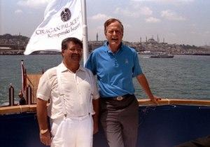 Turgut Özal -  Turgut Özal and George Bush in Istanbul.