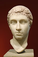 Bust of Cleopatra VII - Altes Museum - Berlin - Germany 2017.jpg