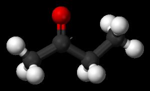 Butanone - Image: Butanone 3D balls