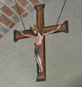 Buttle Church - Image: Buttle kyrka Triumph crucifix