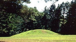 Bynum Mound and Village Site - A mound at Bynum