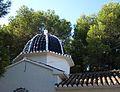 Cúpula de l'ermita del santíssim Crist de Calvari, Gata de Gorgos.JPG