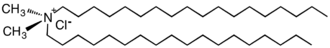 Quaternary ammonium cation - Image: C18x 2Me 2Cl