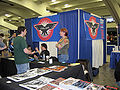CBLDF booth at WonderCon 2010.JPG