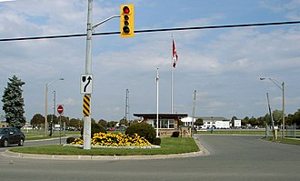 Kingston, Ontario - Main gate, CFB Kingston