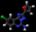 CGS-15943 molecule ball.png