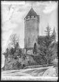 CH-NB - Lucens, château, tour principale, vue d'ensemble extérieure - Collection Max van Berchem - EAD-7347.tif