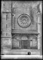 CH-NB - Moudon, Temple St-Etienne, vue partielle extérieure - Collection Max van Berchem - EAD-7384.tif